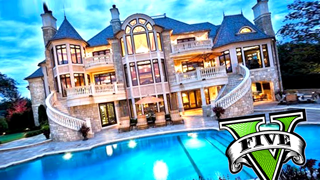 Mi nueva super mansi n casa millonaria y autos de lujo for Las casas mas hermosas del mundo