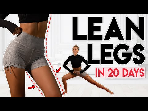 LEAN LEGS in 20 Days (lose leg & thigh fat) | 10 min Home Workout