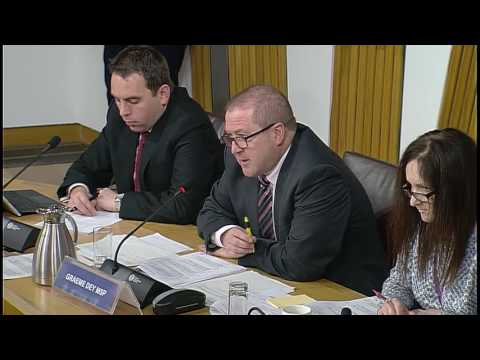 Environment, Climate Change and Land Reform Committee - Scottish Palriament: 15th November 2016