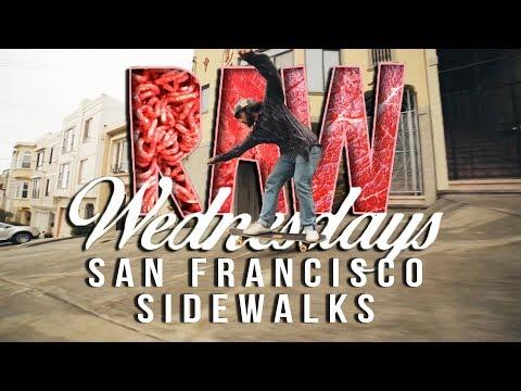 San Francisco Side Walk Shredding with Camilo Cespedes   Raw Wednesday Loaded Boards