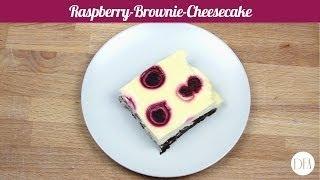 Raspberry-brownie-cheesecake - Recipe [delicious Food Adventures]