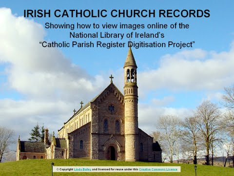 National Library Of Ireland - Catholic Parish Registers - LIVE