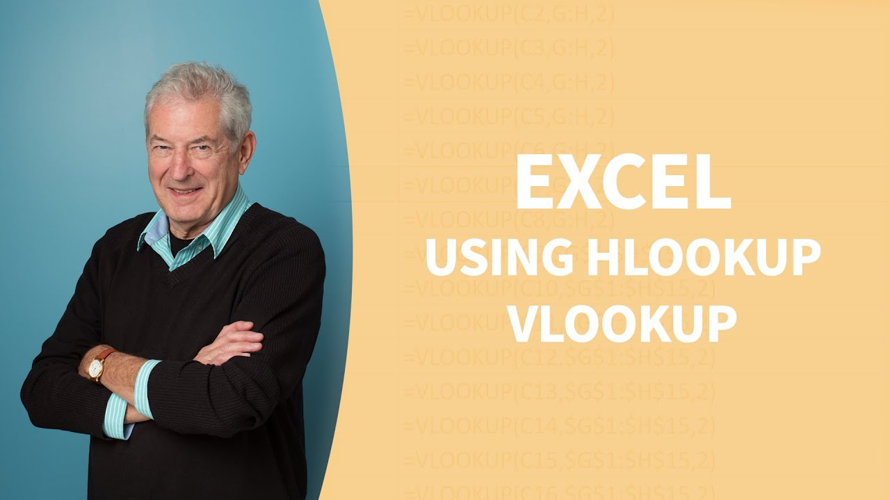 Excel Tutorial - Using VLOOKUP and HLOOKUP