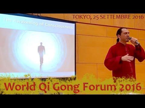 Qi Gong e Lavoro su di sé - World Qi Gong Forum 2016, Tokyo - M° G. Paterniti Lupo