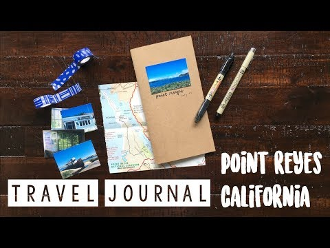 How To Travel Journal - Point Reyes