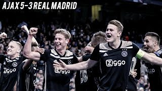 AJAX v REAL MADRID - The Fall Of The Kings | 5-3 Cinematic Highlights ❌❌❌