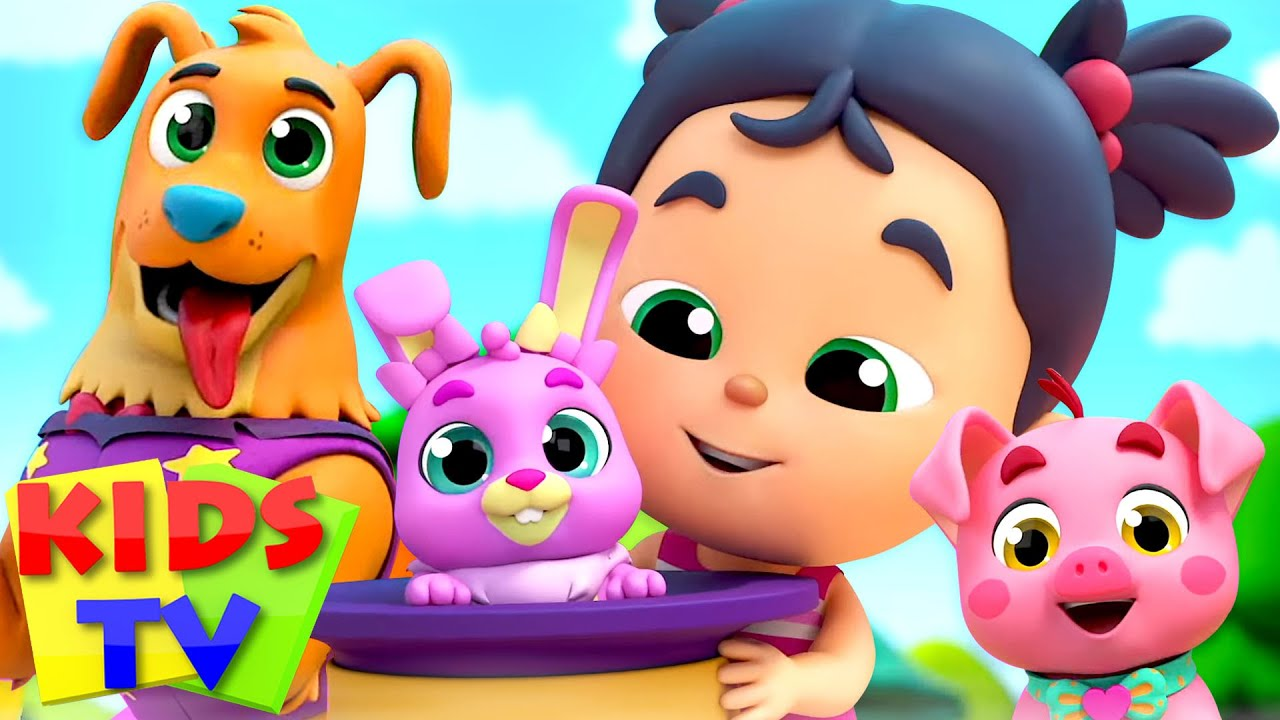 Do You Have A Pet   My Pet Song   Pet Show for Babies   Nursery Rhymes & Cartoon Shows by Kids Tv