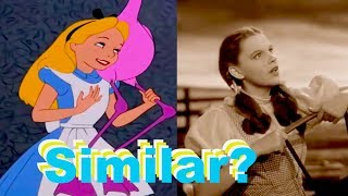 The Similarities in Alice in Wonderland and The Wizard of Oz
