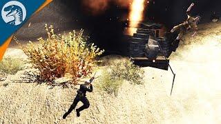 AFRIKA KORPS TAKES HIGH GROUND | LRBM MOD | Men of War: Assault Squad 2 [MOD] Gameplay