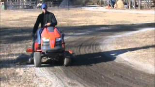 Garden Tractor Attachment for Farm Care-Scrape n' Grade