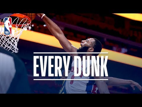 Andre Drummond, Aron Baynes, and Every Dunk From Wednesday Night | November 8, 2017