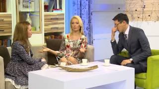 Гость программы - телеведущая, Яна Бобрыка
