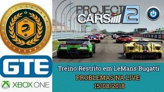 TREINO RESTRITO - Problemas na LIVE - Le Mans BUGATTI