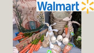 Walmart EASTER Decor Shop with Me!