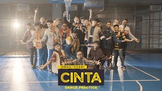 ismail izzani cinta official dance practice