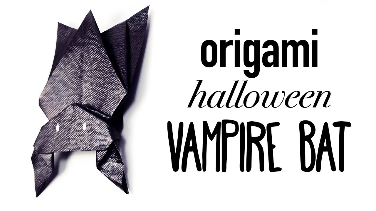 Origami hanging bat for halloween tutorial diy origami hanging bat for halloween tutorial diy youtube jeuxipadfo Gallery