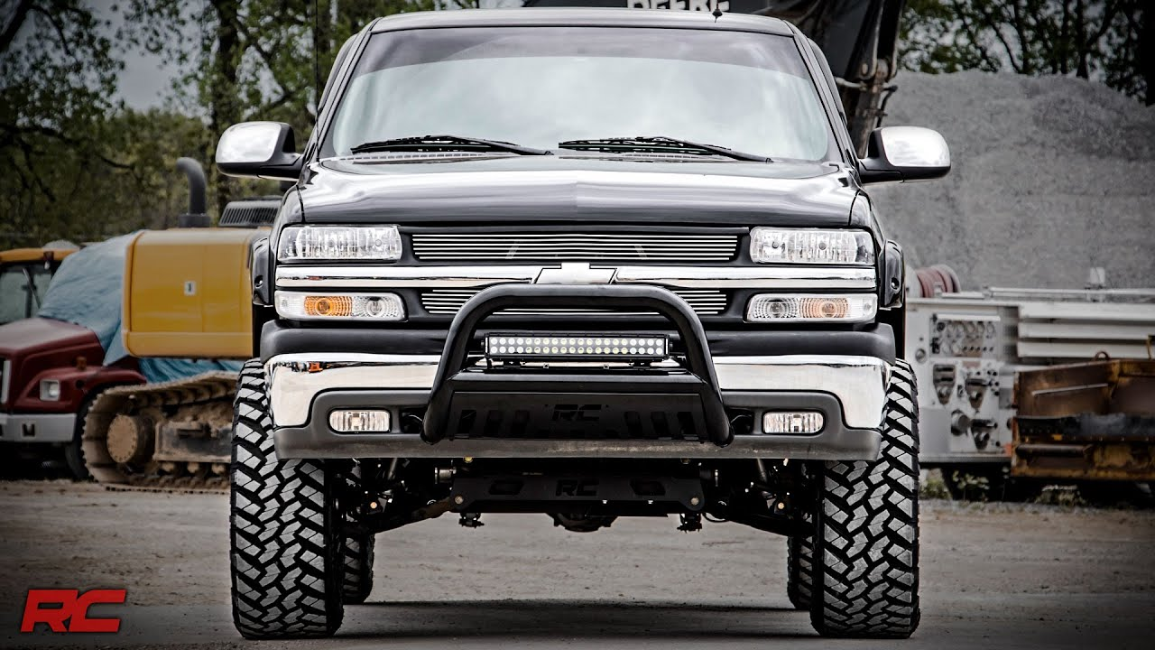small resolution of installing 1999 2006 gm 1500 6 inch suspension lift kit by rough country