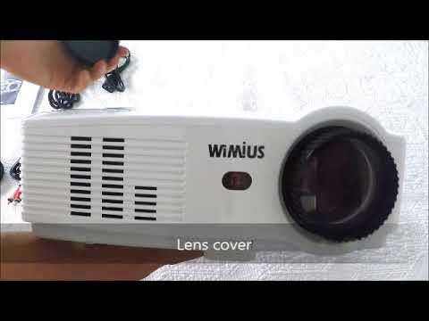 Wimius T4 Projector Youtube