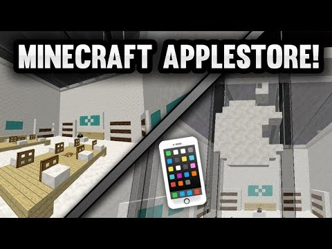 A TRIP TO A MINECRAFT APPLE STORE! (EXACT REPLICA) | Minecraft Factions