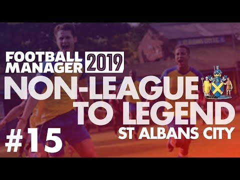 Non-League to Legend FM19 | ST ALBANS | Part 15 | LIFE AFTER NOBLE | Football Manager 2019