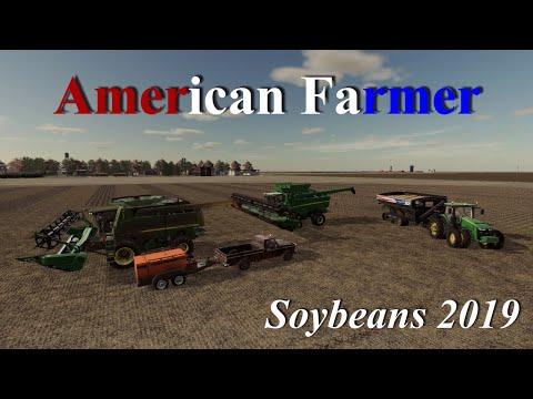 Farming Simulator 19   American Farmer #3   Soybeans 2019