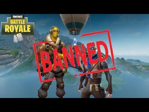 Teaming In Solo - We Got Banned?! Fortnite
