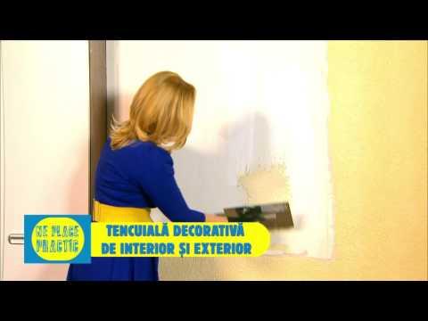 Tencuiala Decorativa De Interior.Tencuiala Decorativa De Exterior Si Interior Stark Putz Youtube