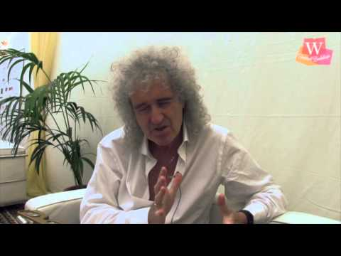 Brian May at the Cheltenham Literature Festival 2013