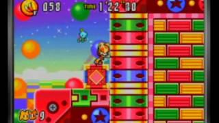 Sonic Advance 3 - Toy Kingdom Zone