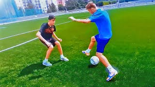 TOP 3 ★ 1 on 1 Dribbling Matchplay Football Skills - Tutorial
