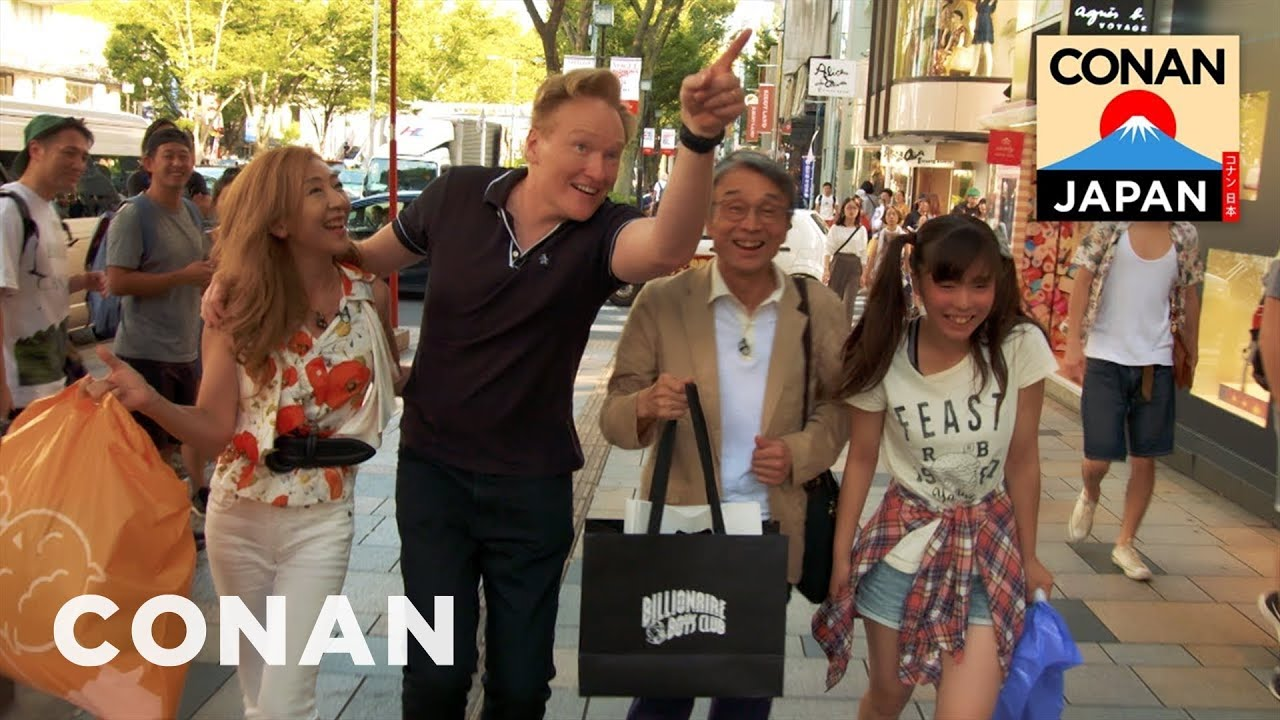 Conan O'Brien Rents a Fake Family in Japan