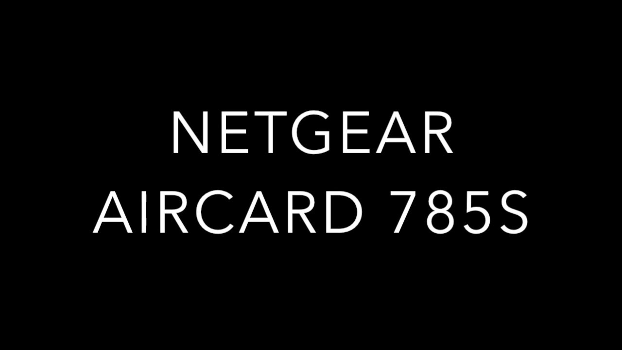 How to Unlock Netgear Aircard 785S from Telstra (Australia) to WIND (Italy)