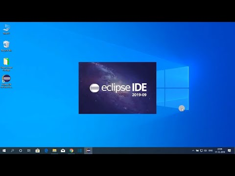 How To Install Eclipse IDE 2019-09 On Windows 10