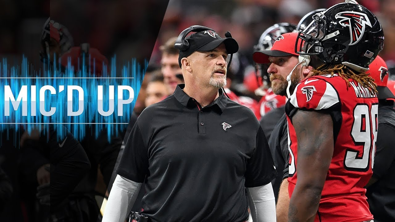 "Dan Quinn Mic'd Up vs. Cardinals ""Pick a fight and attack!"" 