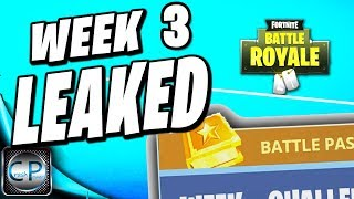 WEEK 3 LEAKED! Fortnite Season 4 Battle Pass Challenges for WEEK 3