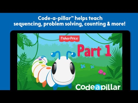 Think & Learn Code-a-pillar - Part 1 - Coding Game For Preschoolers