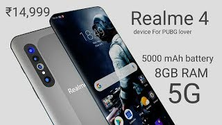 RealMe 4 5G Introduction - Launch Date, Price, Camera, Specifications In India | Realme 4