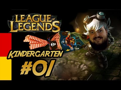 LoL Kindergarten - #01 Jinx ADC [Deutsch/German][Gameplay][HD+]