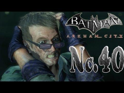 Batman arkham city - The Riddler's last hostage!