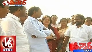 CM KCR visits Mahabubnagar District - Teenmaar News (20-01-2015)