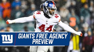Shaun O'Hara Previews TOP Pending Free Agents | New York Giants