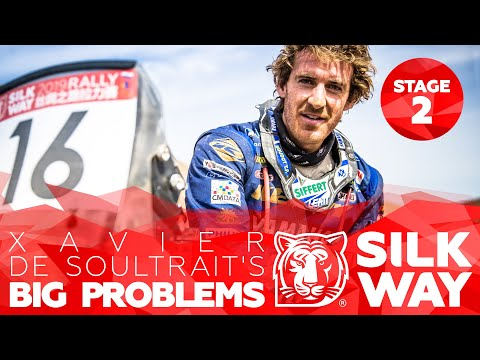 Xavier de Soultrait's BIG problems | Al-Rajhi's engine fail | Silk Way Rally 2019 🌏 - Stage 2 (RUS)