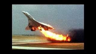 Air France Concorde flight 4590 takes off with fire: Concorde crash that killed 113