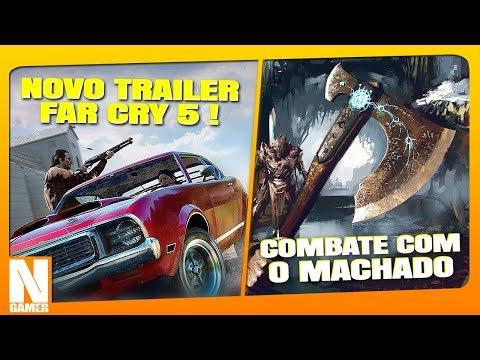 O MACHADO do KRATOS no combate! / Trailer COOP do Far Cry 5 ! - Noberto Gamer