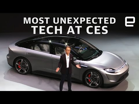 The most unexpected tech at CES 2020