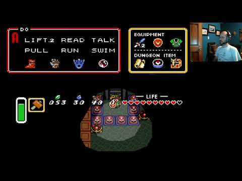 Zelda Link to the Past part 7, Dark World level 1