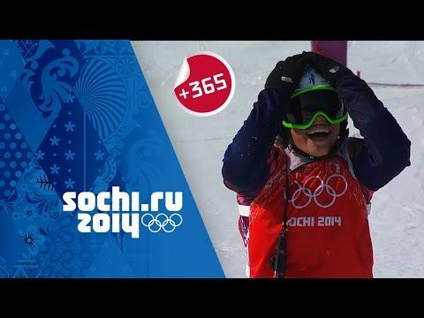 Eva Samkova Wins Ladies' Snowboard Cross - Full Event | #Sochi365