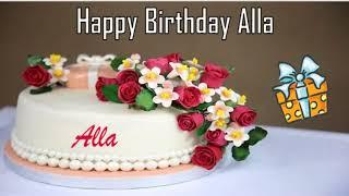 Happy Birthday Alla Image Wishes