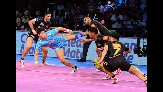 Pro Kabaddi 2018 Highlights | Telugu Titans Vs Bengal Warriors | Hindi