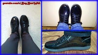 Резиновые Ботинки Женские с Алиэкспресс. Полусапожки с Aliexpress. Ножки в Женской Обуви